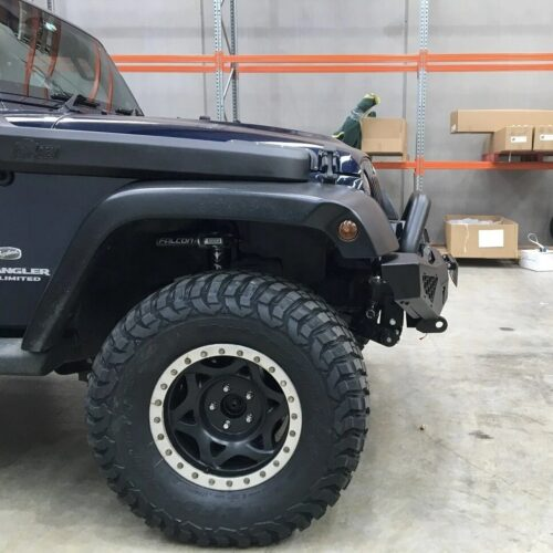 JK Round Tube 3in | Jeep | Overland Depot